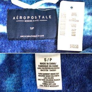 Aeropostale Sweaters - New Aeropostale Blue Aztec Fleece Pullover